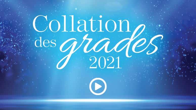 Diplômées et diplômés 2021 de l'Université de Moncton