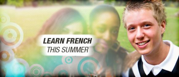 Have fun this summer! Learn french!