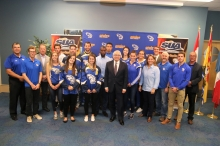 L'Université de Moncton lance sa saison sportive 2017-2018