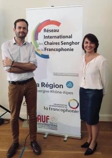 Le professeur Christophe Traisnel devient vice-président du Réseau International des Chaires Senghor de la Francophonie