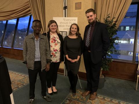 A Conversation with Barack Obama : quatre étudiantes et étudiants représentent l'Université de Moncton