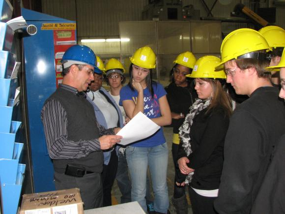Visites industrielles umce administration for Chambre de commerce edmundston